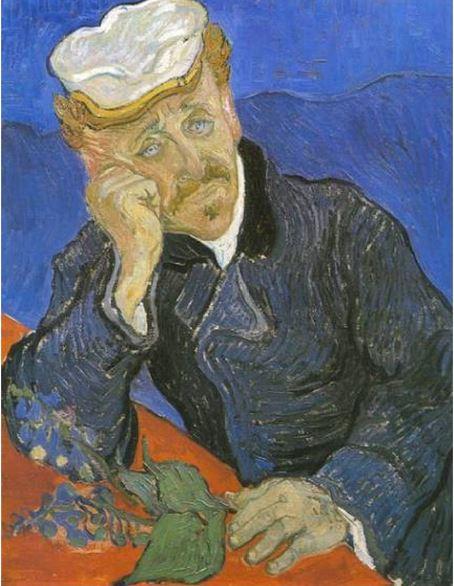 Le portrait du Docteur Gachet par Van Gogh