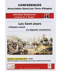 Les Cent Jours de Napoléon évoqués à Saint-leu-la-Forêt !