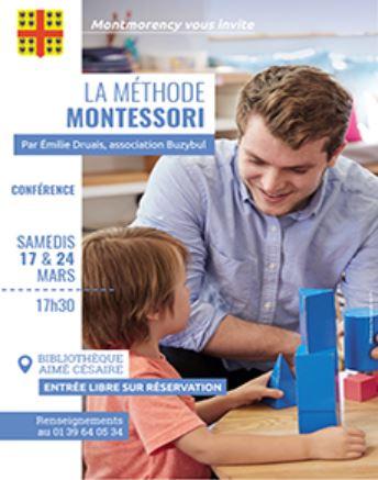 Conférence LA METHODE MONTESSORI