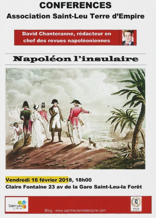 Conférence NAPOLEON L'INSULAIRE