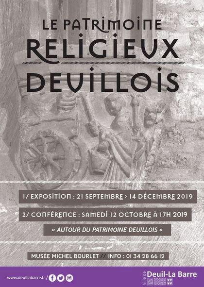 Exposition LE PATRIMOINE RELIGIEUX
