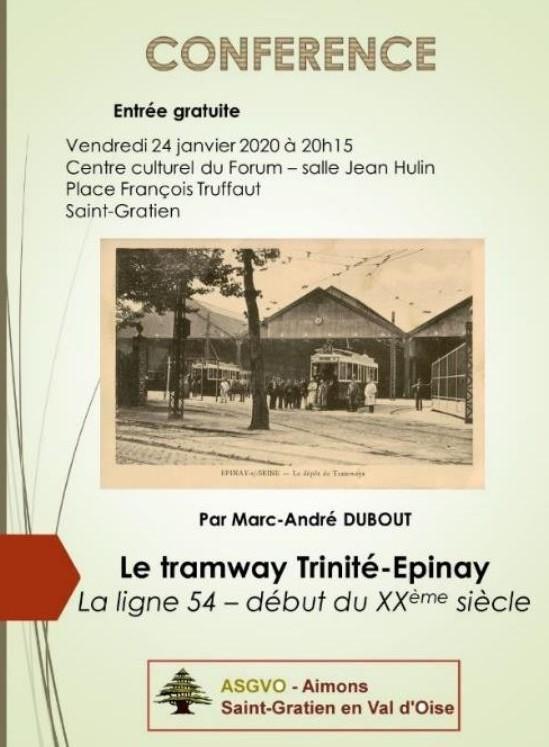 Conférence le 24 janvier 2020 à Saint-Gratien