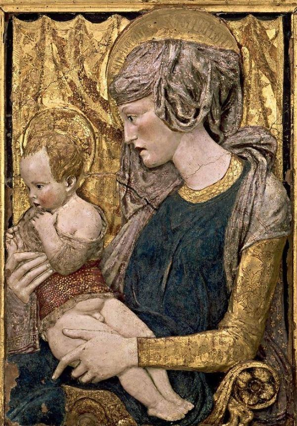 La vierge et l'enfant de Donatello