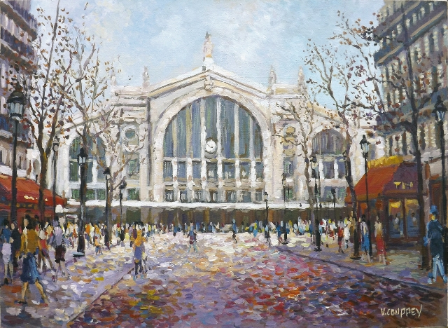 Ambiance Gare du Nord - Vincent Couppey