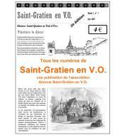 <strong>Les diff&eacute;rents num&eacute;ros&nbsp;de <em>Saint-Gratien en VO</em>.</strong>