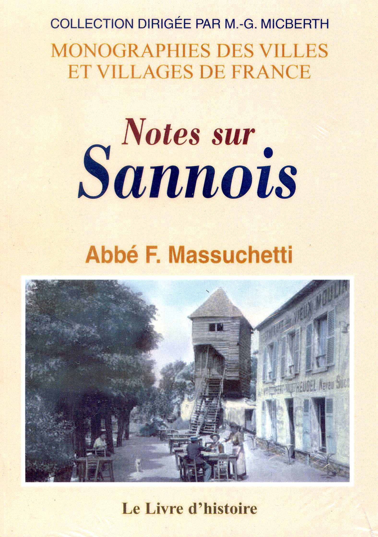 NOTES SUR SANNOIS de l'Abbé F. Massuchetti
