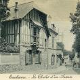Enigmes eaubonnaises >> le peintre Albert Huyot n'a jamais peint dans le Chalet de l'artiste qui a été construit pour lui!