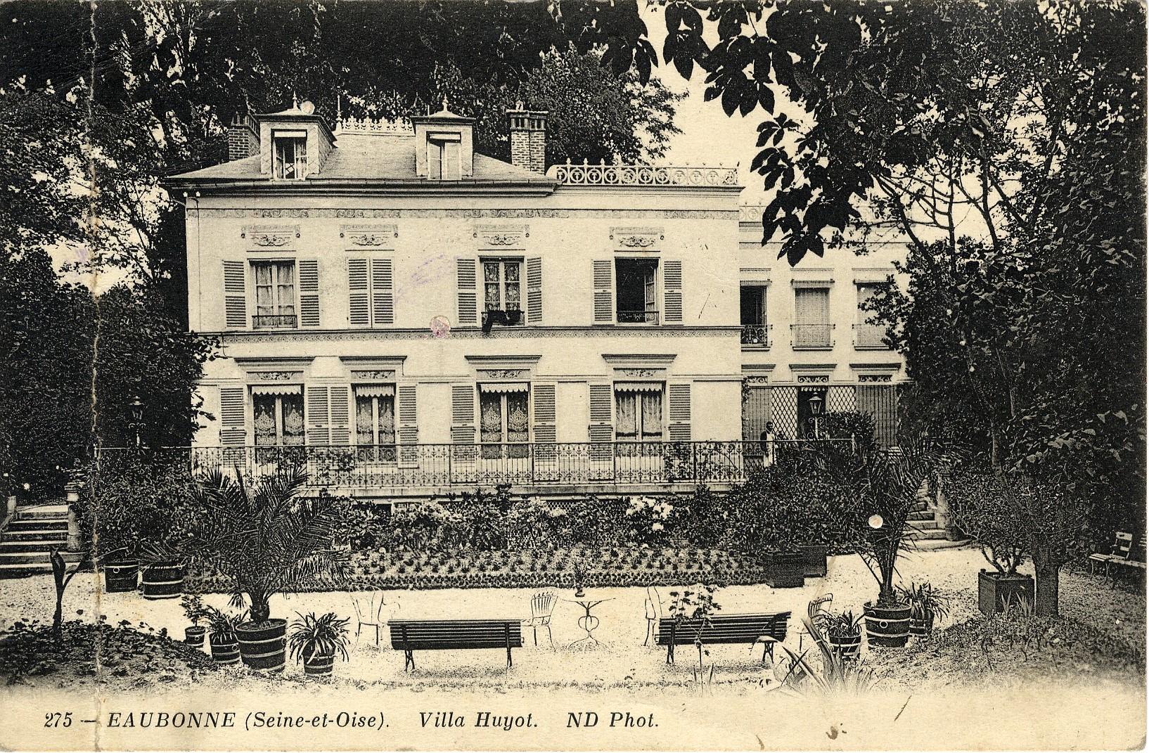 Villa Huyot à Eaubonne