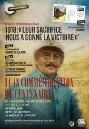 Exposition LEUR SACRIFICE NOUS A DONNE LA VICTOIRE