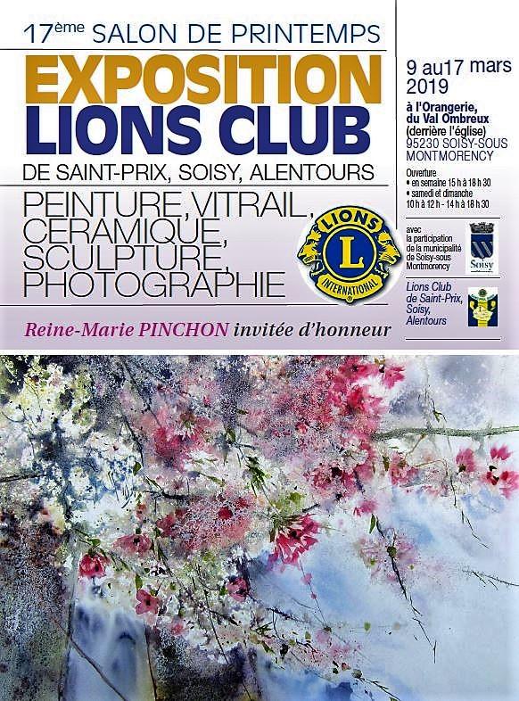 17e Salon de Printemps Lions Club à Soisy