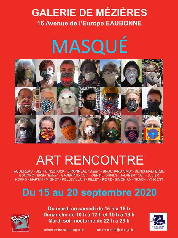 Exposition Art Rencontre - septembre 2020