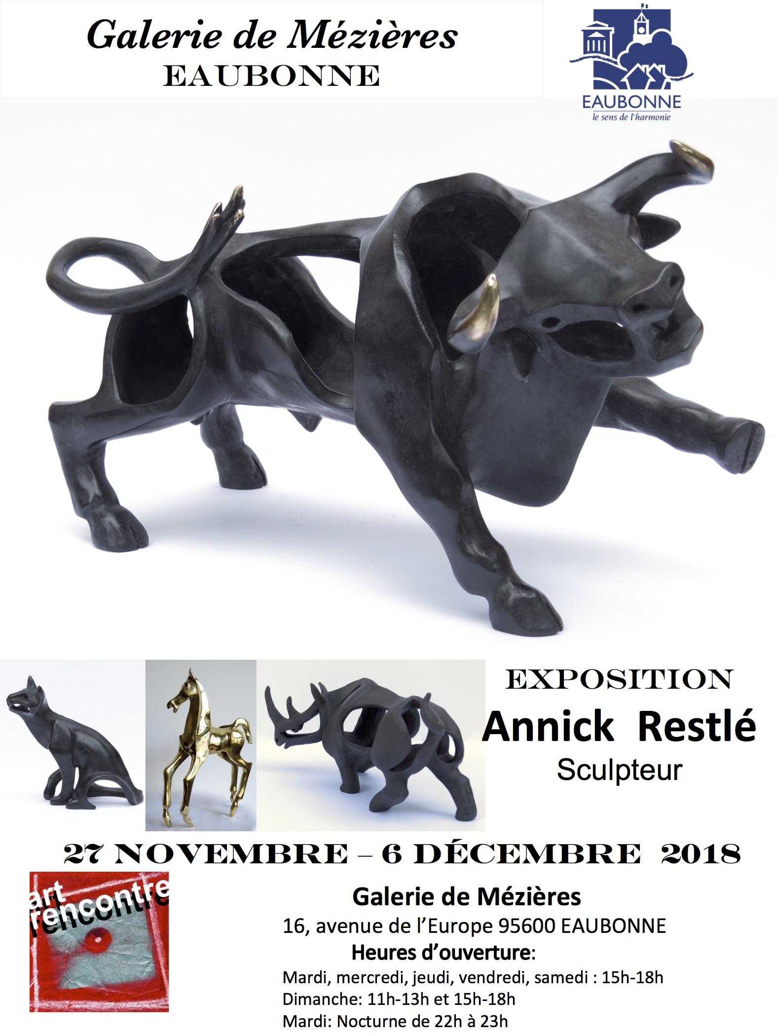 Exposition d'Annick Restlé