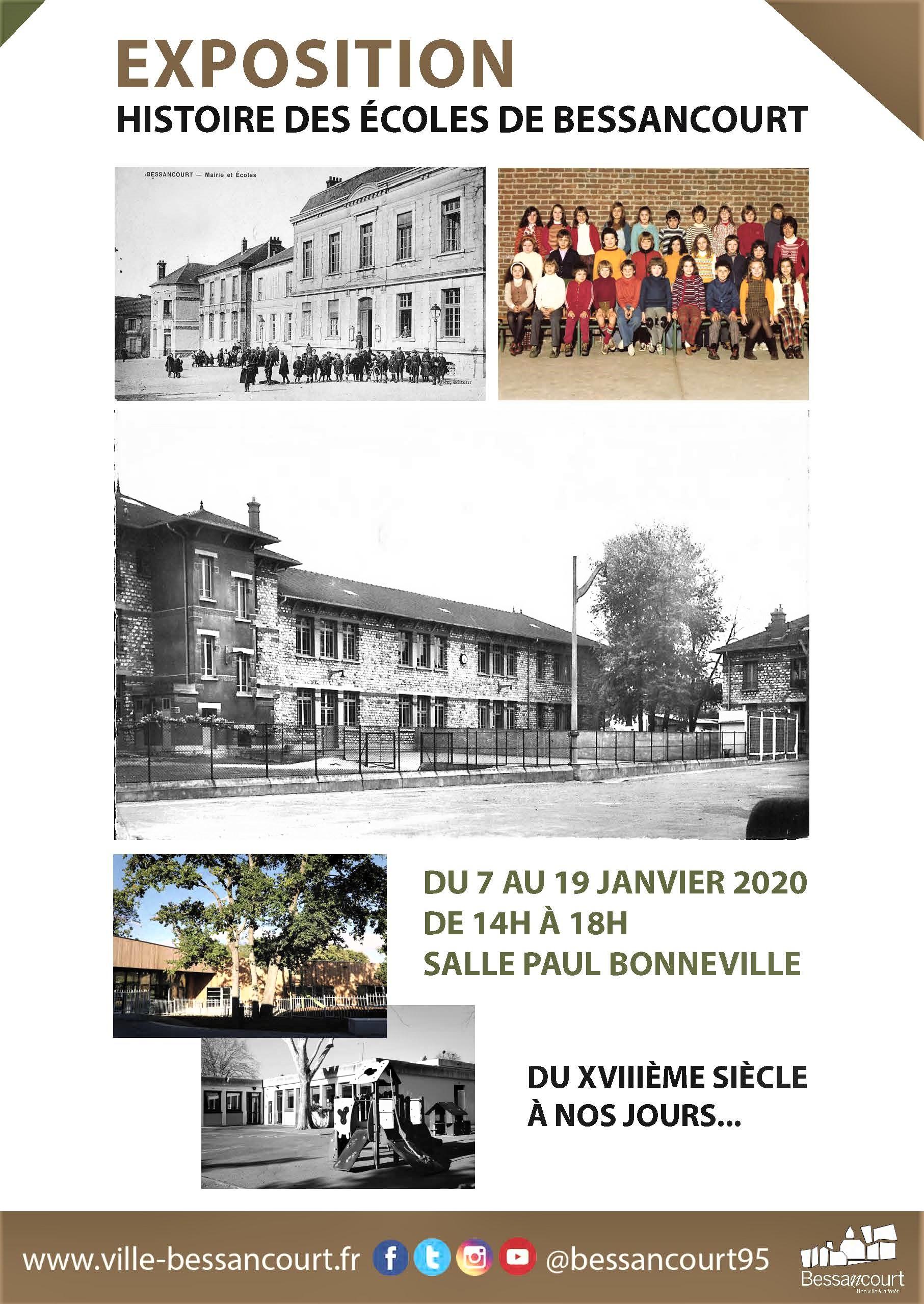 Exposition : Histoire des écoles de Bessancourt