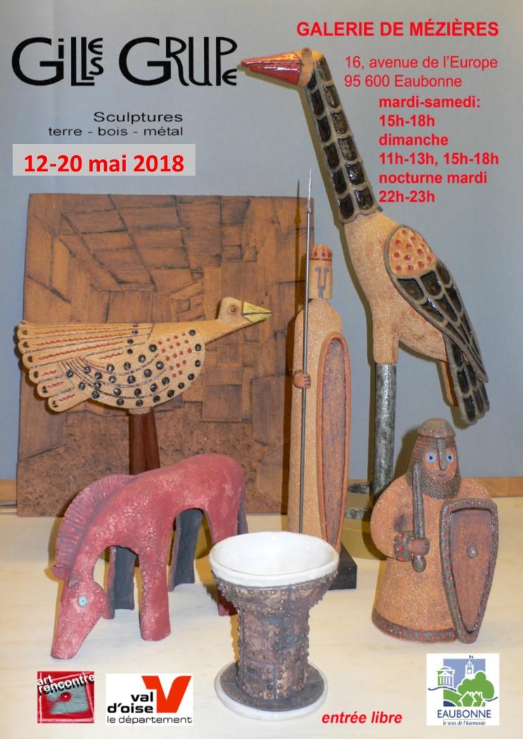 Exposition de Gilles Grupe