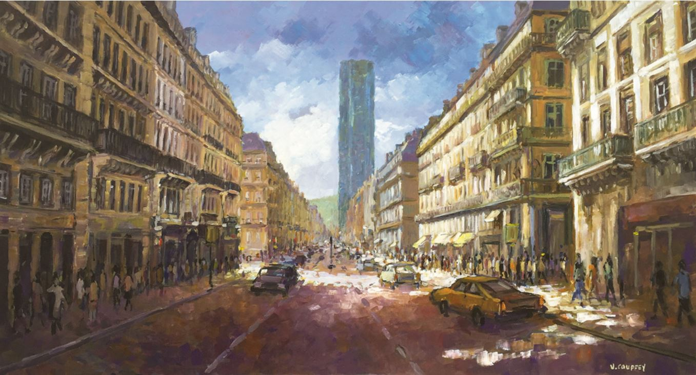 Ambiance Montparnasse II de Vincent Couppey