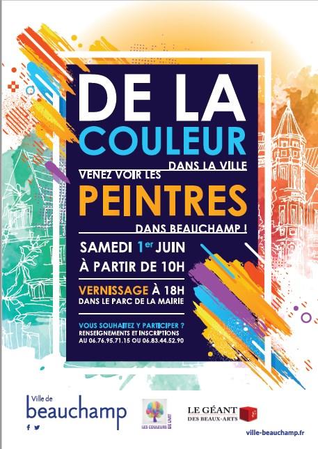 De la couleur dans la ville - 2019 à Beauchamp