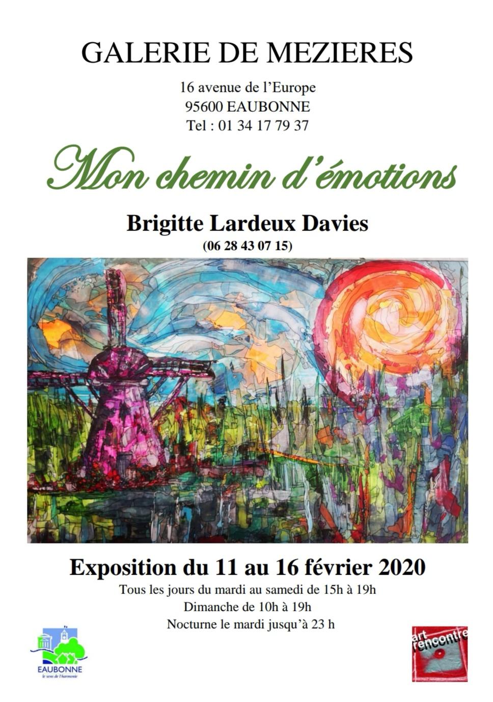 Exposition de Brigitte Lardeux Davies