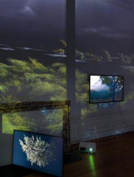 Exposition au Centre des Arts