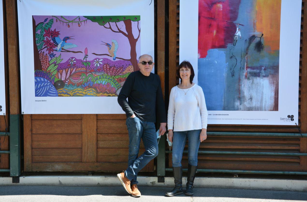 Jacques Bellini et Christine Orihuela