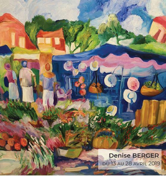 Oeuvre de Denise Berger - Exposition à Saint-Prix