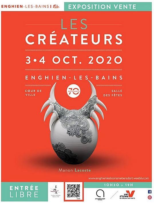 LES CREATEURS  à Enghien les 3 et 4 octobre 2020