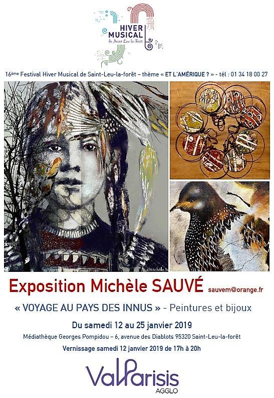 Exposition Michèle Sauvé