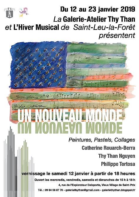 Exposition UN NOUVEAU MONDE