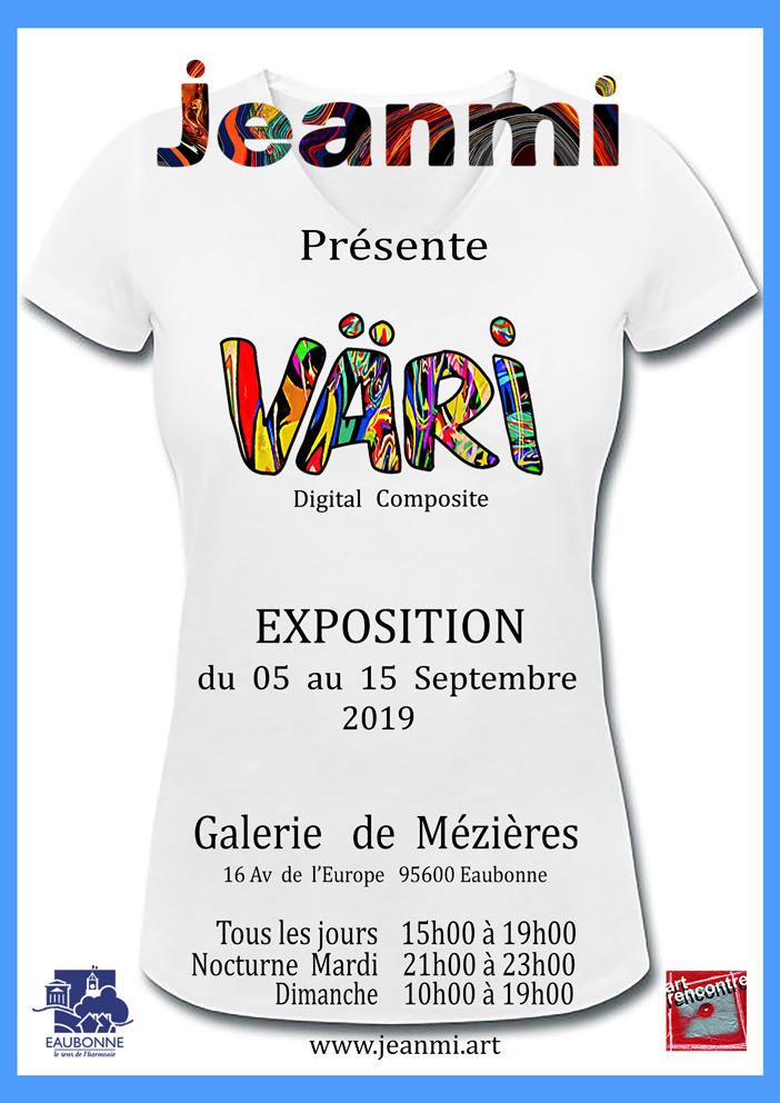 Exposition de Jeanmi - Eaubonne du 5 au 15 septembre 2019