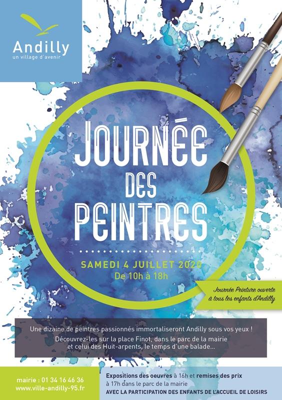 Première journée de peintres d'Andilly-4 juillet 2020