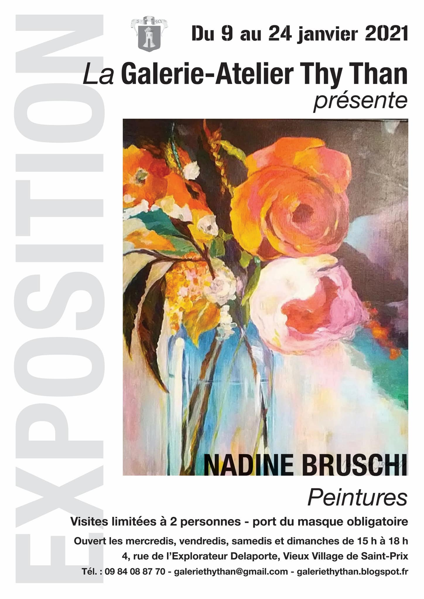Exposition de Nadine Bruschi