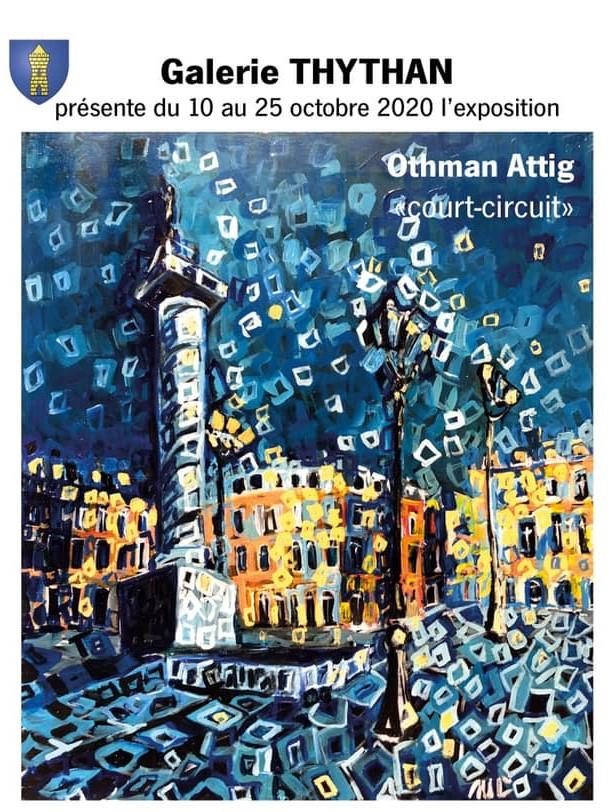 Exposition d'Othman Attig