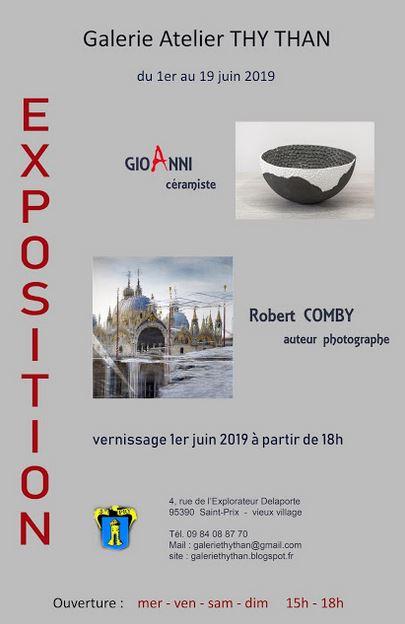 Exposition de GioAnni et Robert Comby