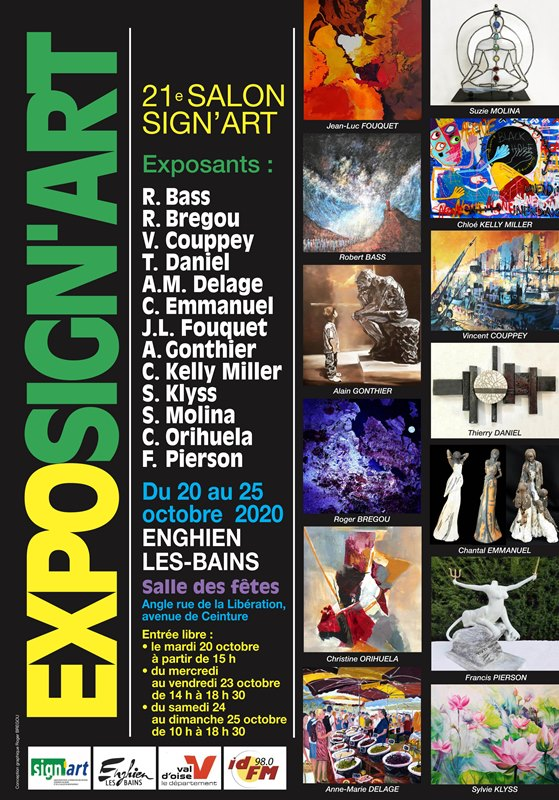 Exposition SIGN'ART 2020