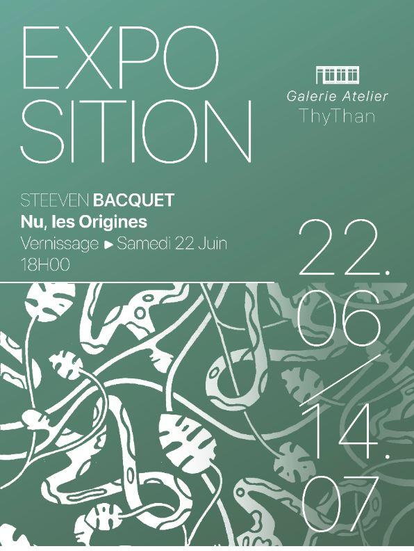 Exposition de Steeven Bacquet
