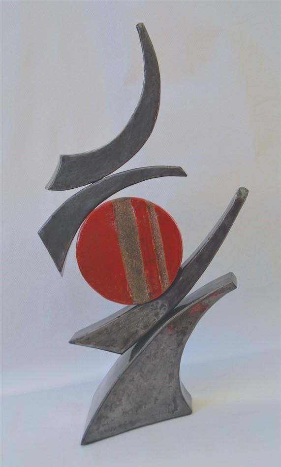 Oeuvre de Thierry Danei en ollaboration avec Chantal Emmanuel