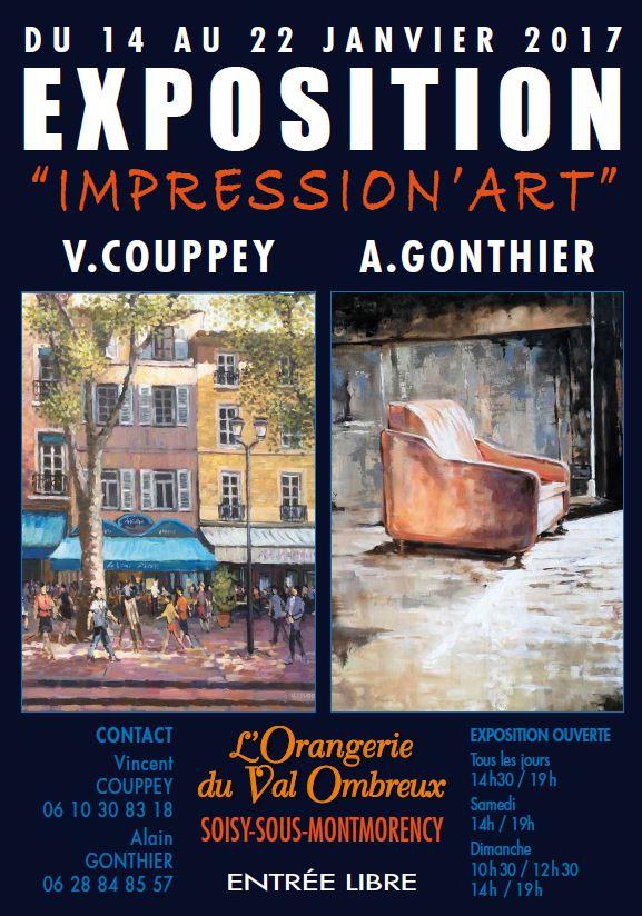 Exposition de Vincent Couppey et Alain Gonthier