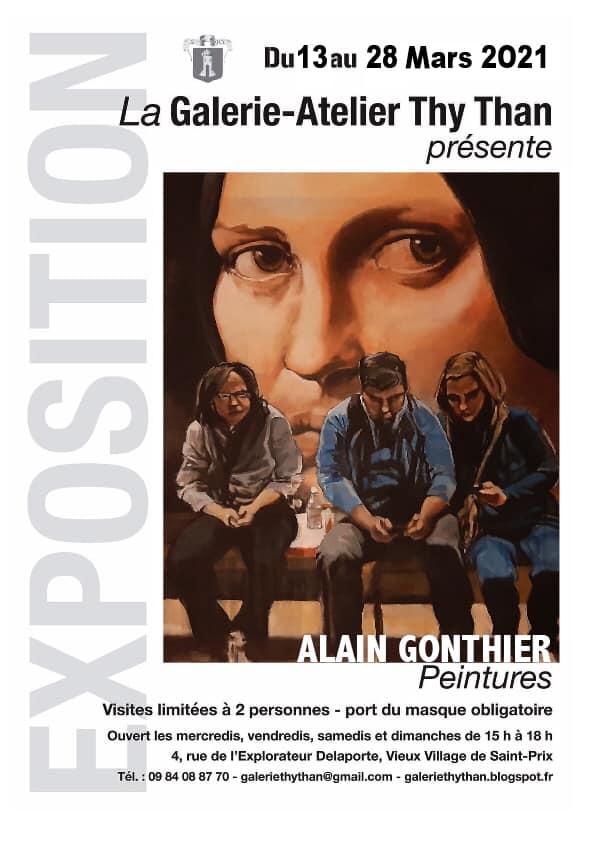Exposition de Alain Gonthier -Saint-Prix