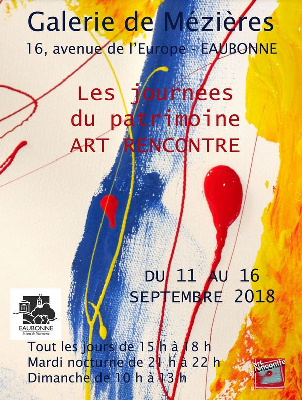 Exposition Art Rencontre du 11 au 16 septembre 2018
