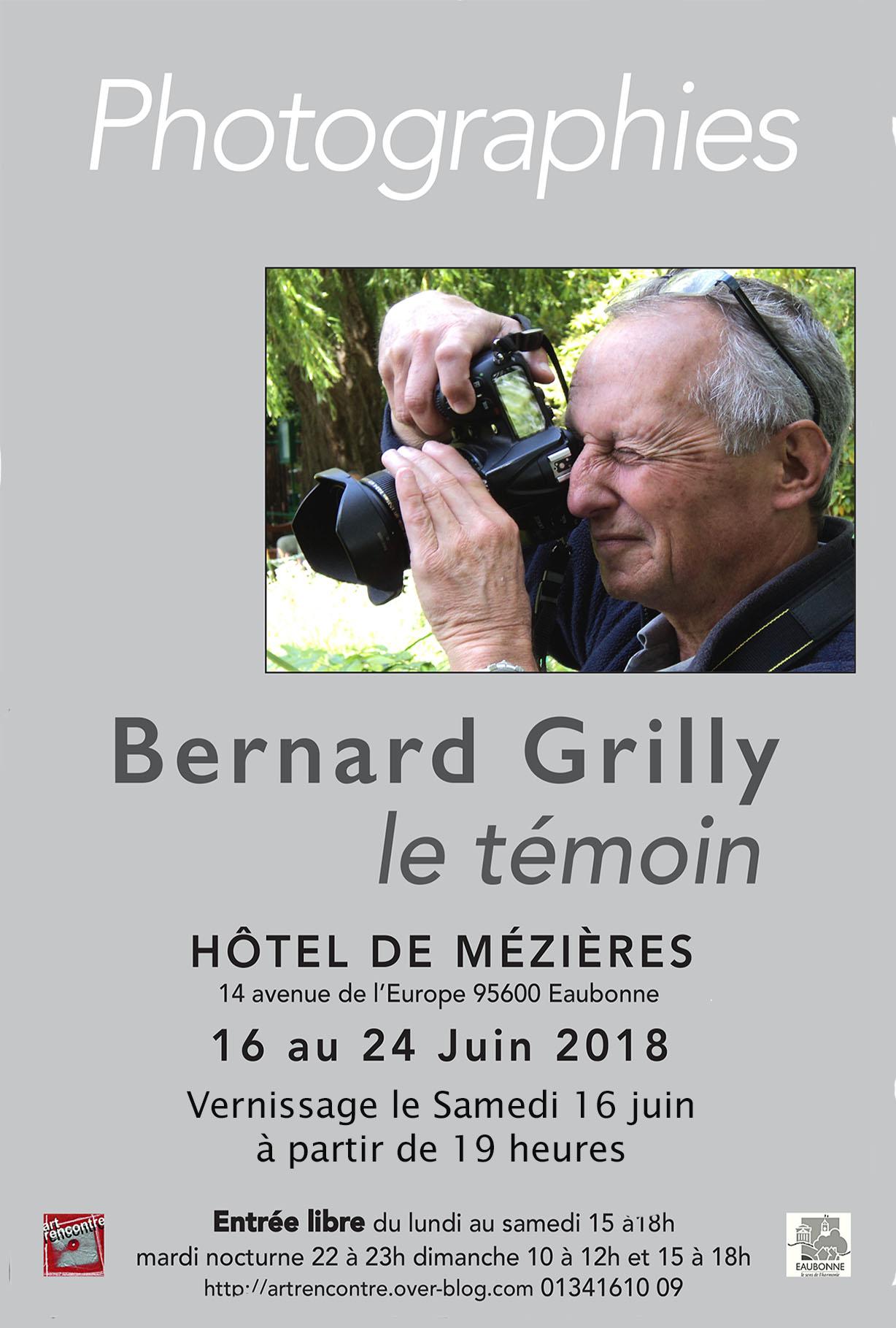 Exposition hommage à Bernard Grilly