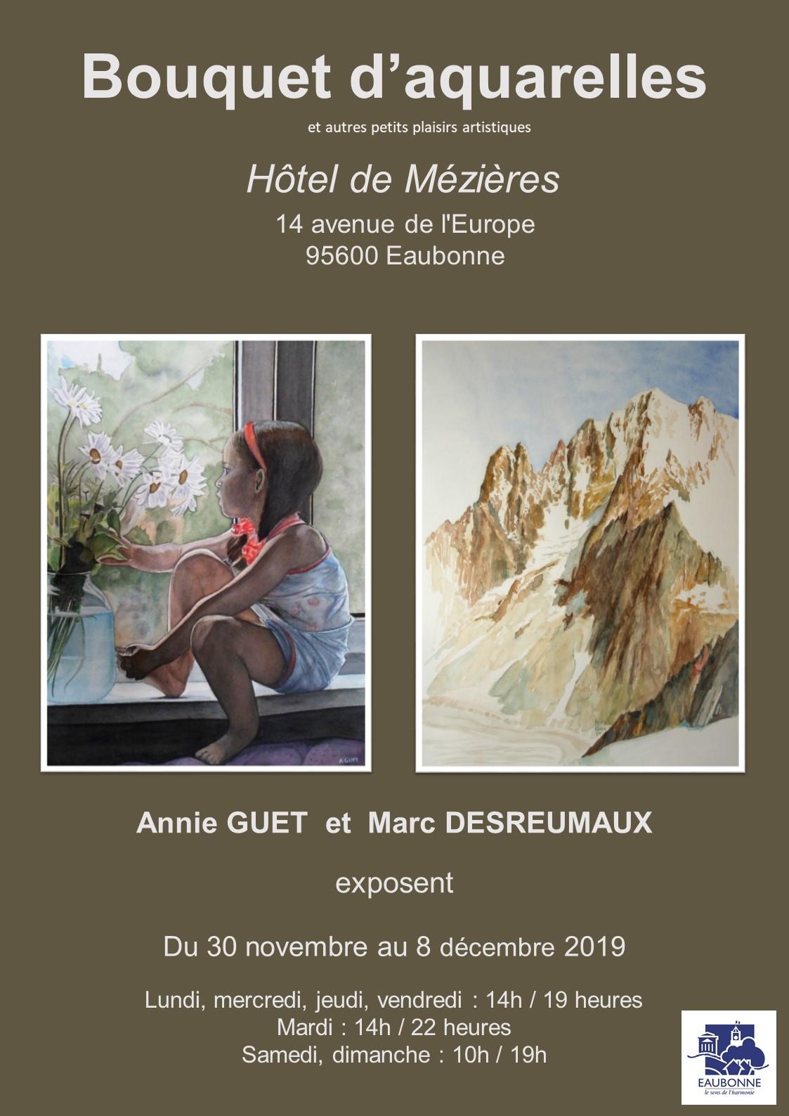 Exposition BOUQUET D'AQUARELLES
