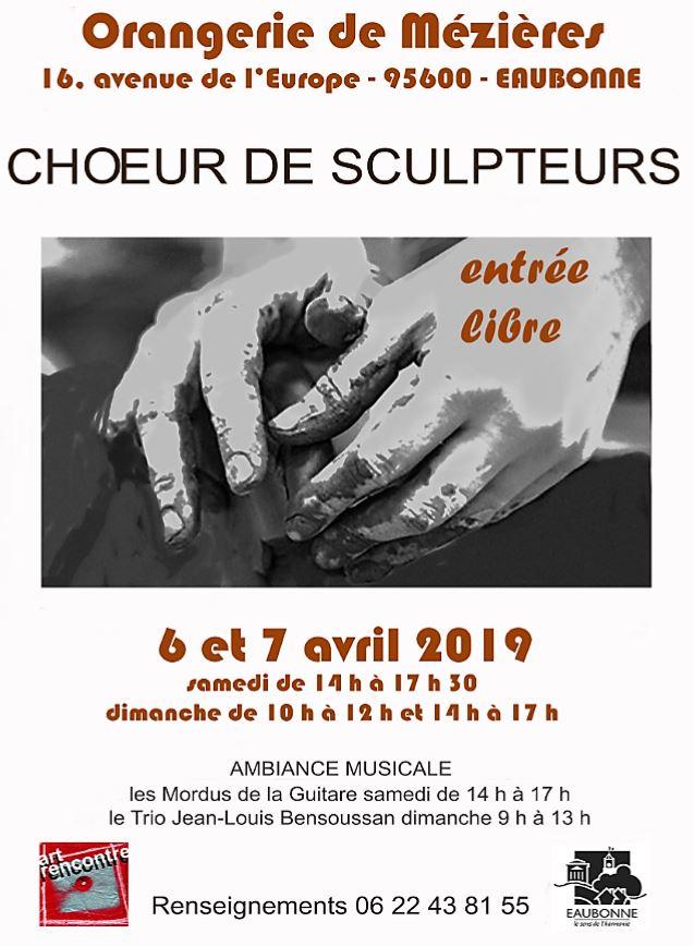 Choeur de sculpteurs Eaubonne 2019