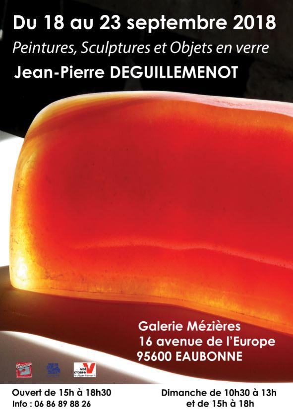 Exposition de Jean-Pierre Deguillemot