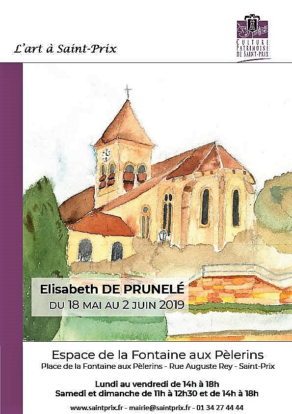 Exposition d'Elisabeth de Prunelé