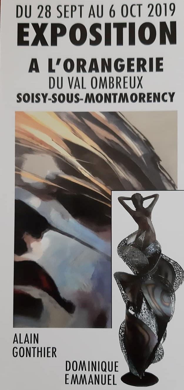 Exposition de Alain Gonthier et Dominique Emmanuel