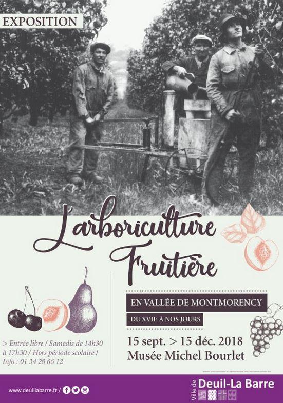 Exposition L'ARBORICULTURE FRUITIERE EN VALLEE DE MONTMORENCY