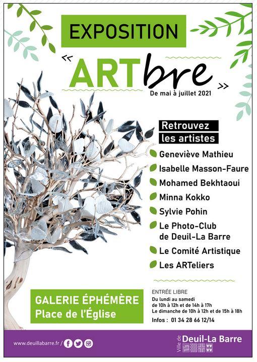 Exposition ARTbre à Deuil-la-Barre
