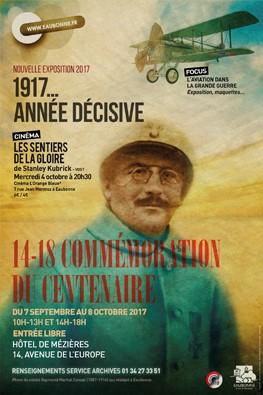Expo centenaire 1917 à Eaubonne