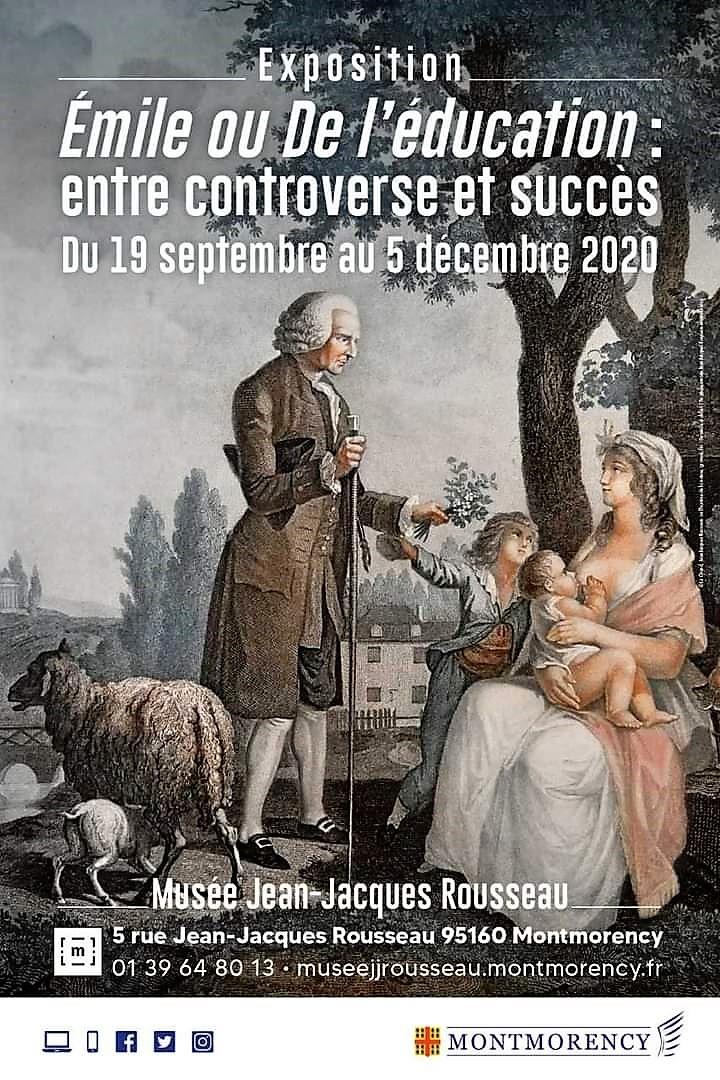 Exposition Emile ou De l'éducation - Montmorency