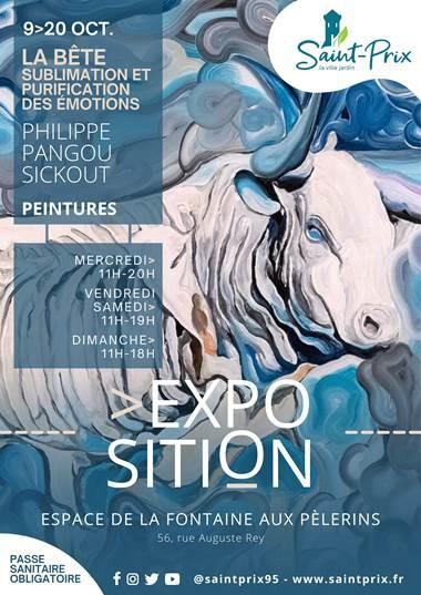 Exposition de Philippe Pangou Sickout