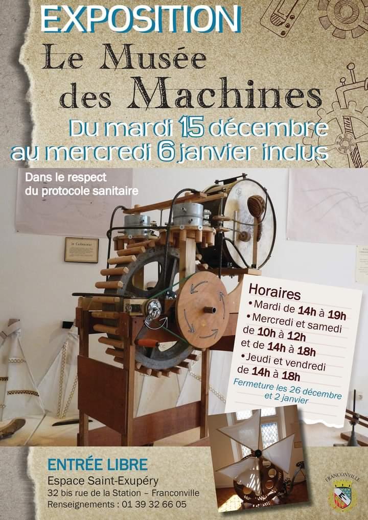 Exposition Le Musée des Machines
